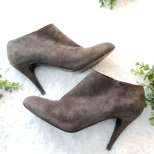 J Crew Suede Ankle Booties